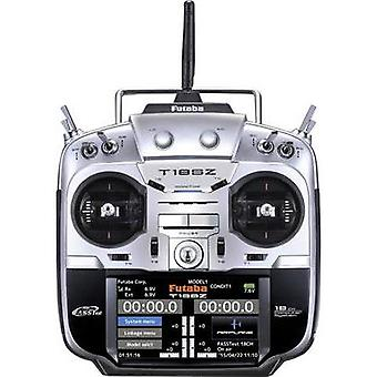 Futaba T18SZ Sport Mode 2 Handheld RC 2,4 GHz No. of channels: 18 Incl. receiver