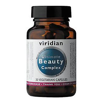 Viridian Complex Vegetable Capsules end Beauty 30