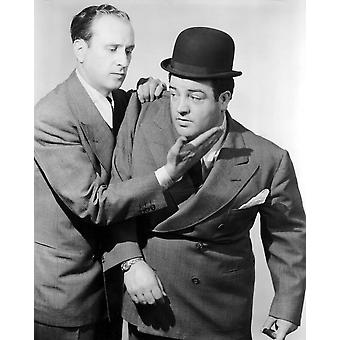 Knopp Abbott Lou Costello i 1930-talet foto tryck