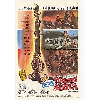 Tambores de Africa Movie Poster (11 x 17)