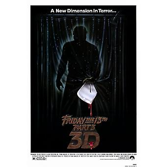 Friday the 13th Part 3 Movie Poster Print (27 x 40)