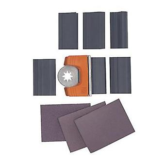 Fein 63806183013 Profile Sanding Set, 12 Pieces