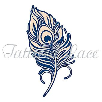 Tattered Lace Whitework Peacock Feather Die