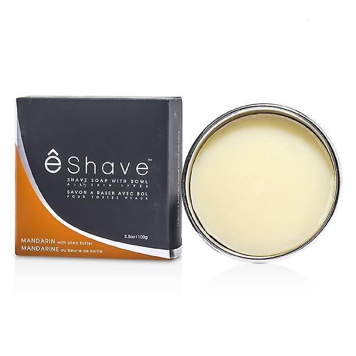 EShave Shave Soap With Bowl - Mandarin 100g/3.5oz