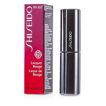 Shiseido Lacquer Rouge - # RS322 (Metalrose) 6ml/0.2oz