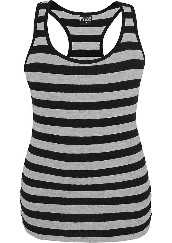 Urban classics tank top ladies stripe