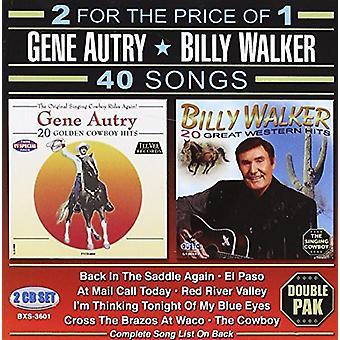 Autry, Gene/Walker, Billy - 40 import USA canciones [CD]