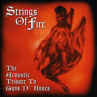 Strings of Fire: Acoustic Tribute to Guns N Roses - Strings of Fire: Acoustic Tribute to Guns N Roses [CD] USA import