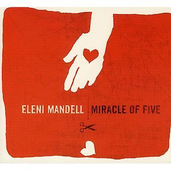 Eleni Mandell - mirakel af fem [CD] USA import
