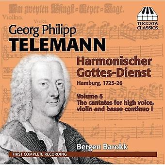 G.P. Telemann - Telemann: Harmonischer Gottes-Dienst [CD] USA import