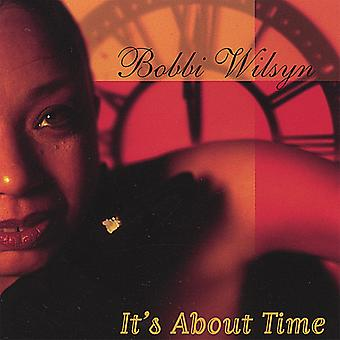 ボビー Wilsyn - それは時間について [CD] USA 輸入です。