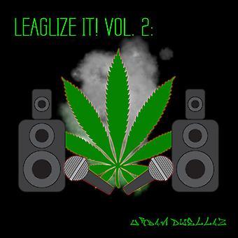 Forskellige kunstner - legalisere det! Vol. 2: Urban Dwellaz [CD] USA import