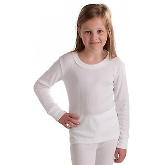 OCTAVE Girls Thermal Underwear Long Sleeve T-Shirt / Vest / Top