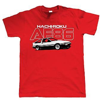Vectorbomb, AE86, Mens JDM bil T Shirt (S till 5XL)
