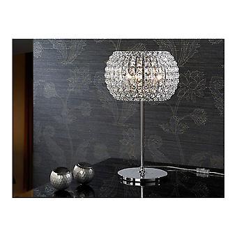 Lámpara de mesa de diamante Schuller 3L