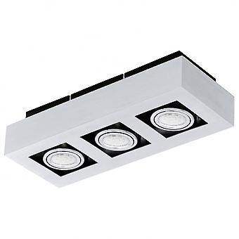 Lampada da soffitto Spot Box 3 Eglo LOKE