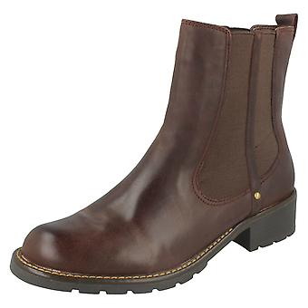Ladies Clarks Chelsea Pull On Boots Orinoco Club