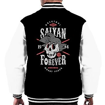 Saiyan Forever Dragon Ball Z Men's Varsity Jacket