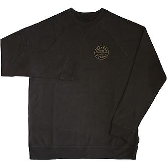 Brixton Oath Sweatshirt Washed Black