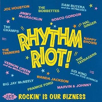 Rhythm Riot! - Rhythm Riot! [CD] USA import