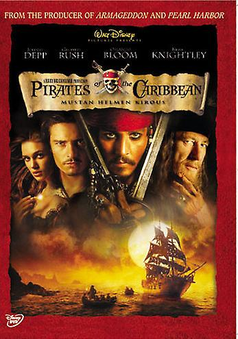 Pirates of the Caribbean Mustan Helmen kirous (DVD)