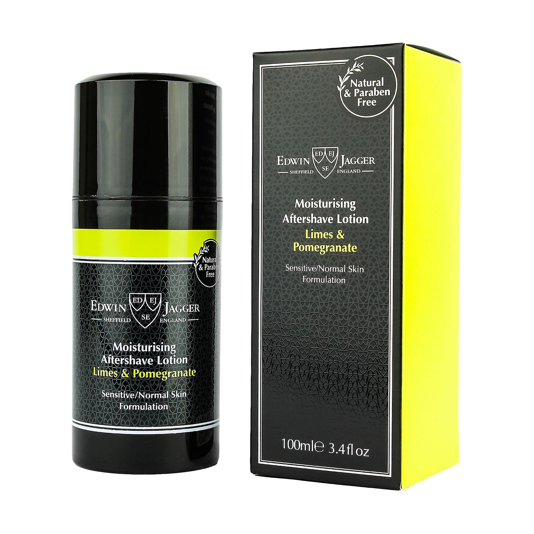 Edwin Jagger Moisturising Aftershave Lotion Limes & Pomegranate 100ml