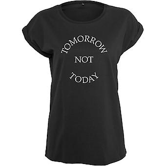 Mister tea of ladies top - tomorrow emergency today black