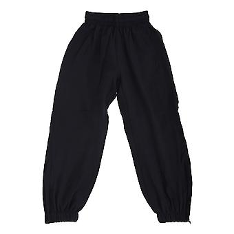 Finden & Hales Childrens Unisex Lined Cuff Microfibre Sports Track Pant / Tracksuit Bottoms
