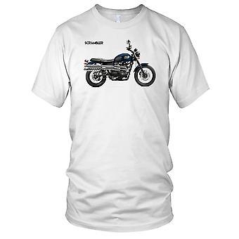Triumph Scrambler Awesome fiets Mens T Shirt