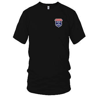 USAF Airforce - 200 missioner Over Mosul broderet Patch - Herre T-shirt
