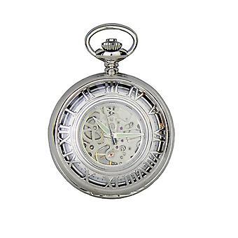 Reloj de bolsillo personalizado Albany mecánica prestigio (PW56 CB)