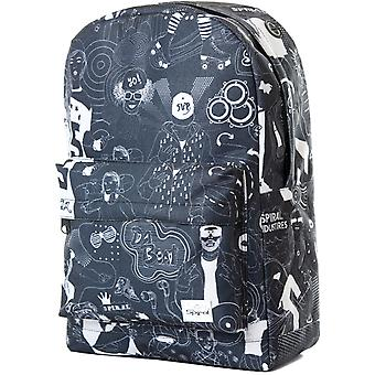 Spiral Beats Black Backpack