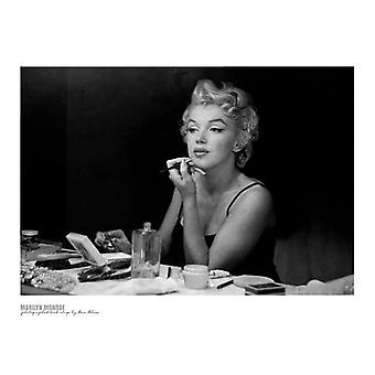 Marilyn Monroe Backstage Poster Print by Sam Shaw (32 x 24)