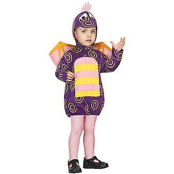 Kostium Baby kostiumy dziecko fioletowy Smok