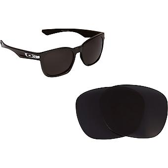 Garage Rock Replacement Lenses Polarized Grey by SEEK fits OAKLEY Sunglasses