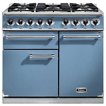 FALCON F1000DXDFCANM 98620 100cm Deluxe Range Cooker, China Blue Finis