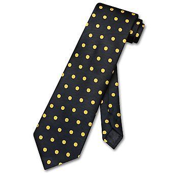 Vesuvio Napoli NeckTie w/ Polka Dots Design Men's Neck Tie