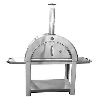 Wood Fired Outdoor Large Pizza Oven with Cover