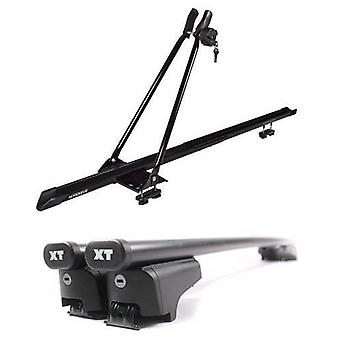Roof Bars & Bike Carrier for Mini Countryman from 2010 with Solid Closed Rails