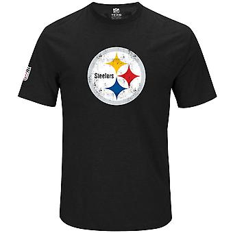 Majestuoso camiseta NFL - HYPER Pittsburgh Steelers negra