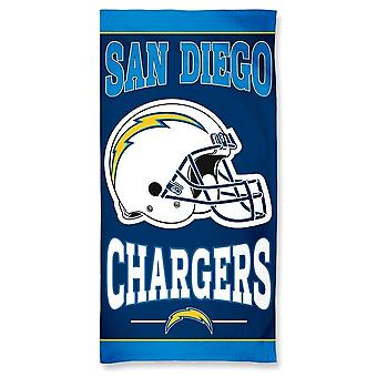 Wincraft NFL Los Angeles Chargers Strandtuch 150x75cm