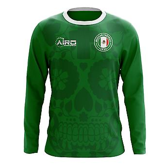 2018-2019 Mexico Long Sleeve Home Concept Football Shirt (Kids)