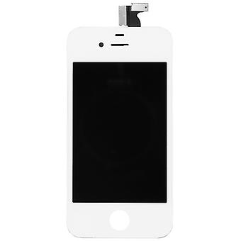 Display LCD complete unit touch panel for Apple iPhone 4S white replacement glass