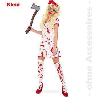 Bloody Lady costume ladies zombie undead Halloween ladies costume