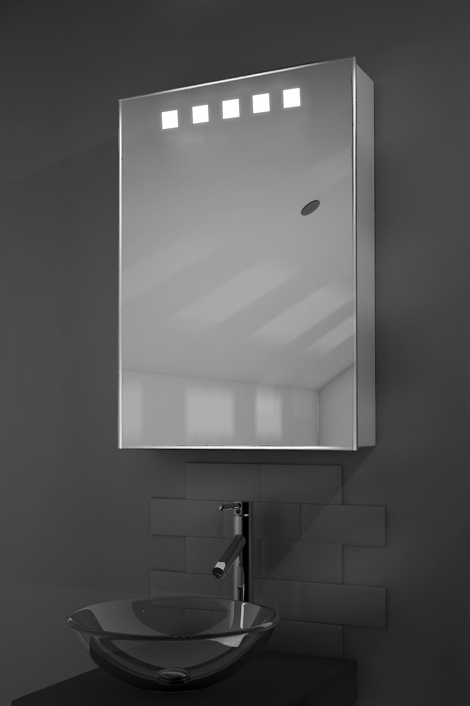 Deva LED lumineux salle de bain miroir armoire avec capteur & rasoir k259