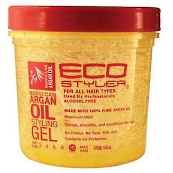 Eco Styler Moroccan Argan Oil Styling Gel 16oz