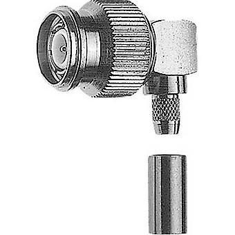 TNC connector Plug, right angle 50 Ω Telegärtner J01010A0006