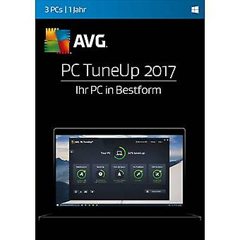 AVG PC TuneUp 2017 fuld version, 3 licenser Windows System optimering