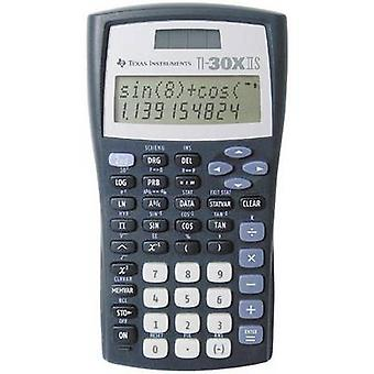 Texas Instruments TI-30 X IIS CAS calculator Black, Silver Display (digits): 11 solar-powered, battery-powered (W x H x D) 82 x 19 x 155 mm