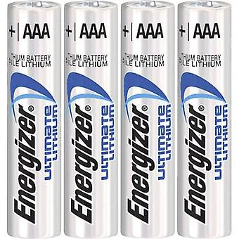 AAA battery Lithium Energizer Ultimate LR03 1250 mAh